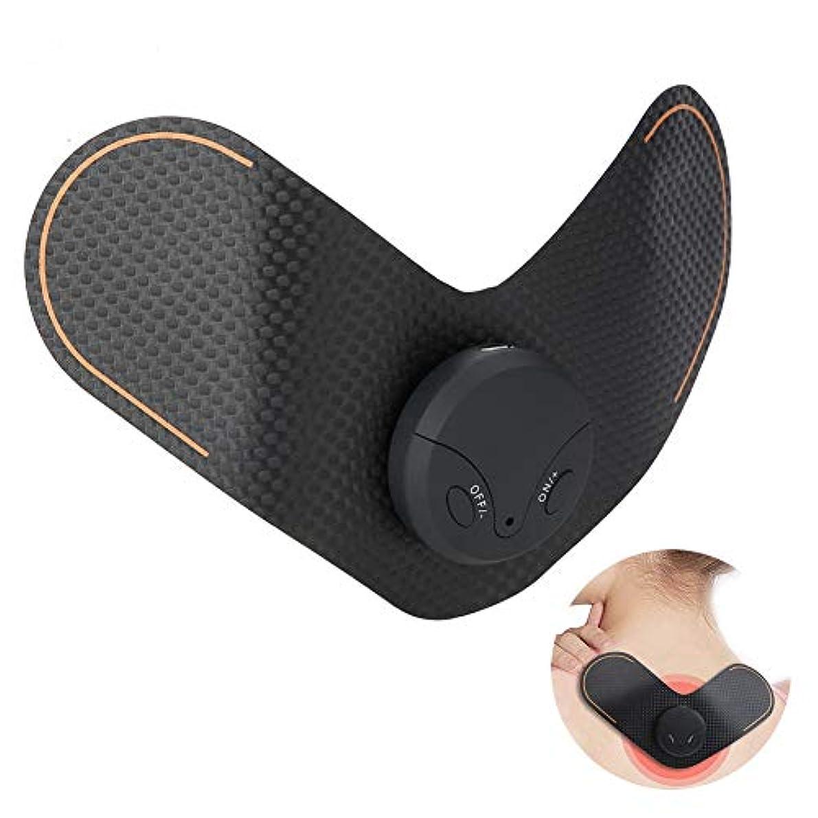 膨らませる維持する口頭ポータブルミニネックマッサージャー 多機能 ワイヤレス ユニット電気マッサージデバイスUSB充電ショルダーネックマッサージャー