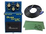 BOSS 技 WAZA CRAFT Blues Driver BD-2W(J) + 3m ギターケーブル VOX VGS-30+クロス セット