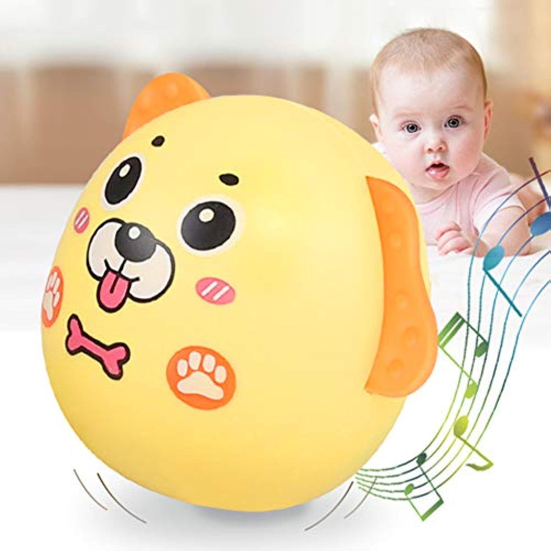 Jeakmo かわいいカートゥーン ドッグ タンブラー 人形 赤ちゃん 乳児 ラトル おもちゃ 子供 クリスマスギフト 幼児 早期教育玩具 乳児 シェイク開発 シェイカー グラブ おもちゃ 1 31HPS21I8YT1UU18K