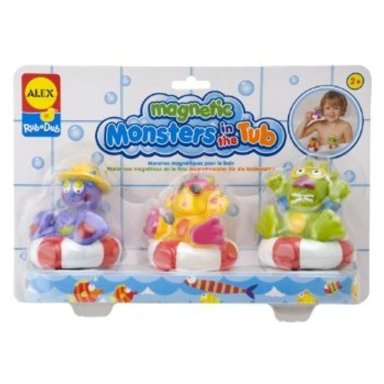ALEX? Toys - Bathtime Fun Magnetic Monsters 883W おもちゃ [並行輸入品]
