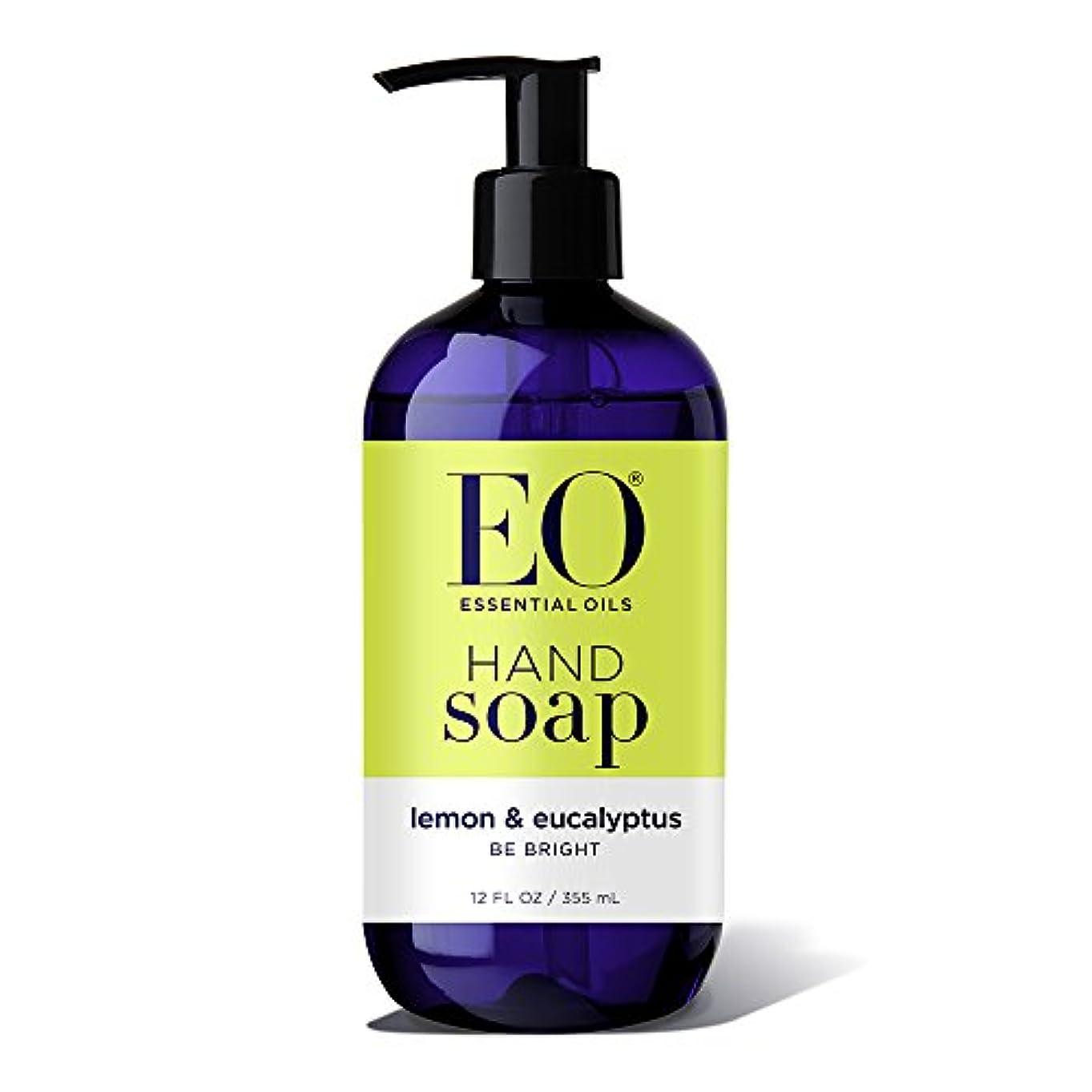 鎮痛剤コジオスコ可塑性EO ハンドソープ レモン & ユーカリ (355mL)