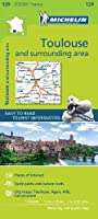 Toulouse & surrounding areas - Zoom Map 129 (Michelin Zoom Maps)
