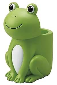 茶谷産業 小物収納 Lucky Frog かえる マルチスタンド 854-106