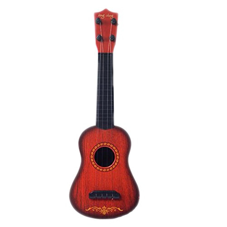 おもちゃギターウクレレ音と鮮やかな音子供の教育おもちゃ