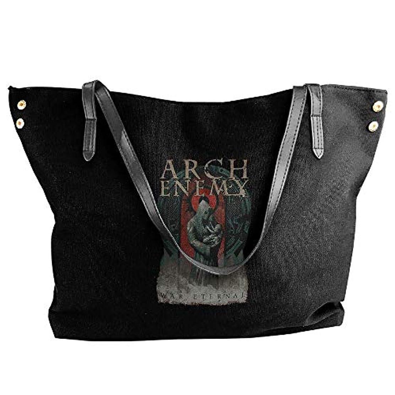 乳製品インターネットマイク2019最新レディースバッグ ファッション若い女の子ストリートショッピングキャンバスのショルダーバッグ Arch Enemy 人気のバッグ 大容量 リュック
