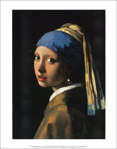 フェルメール 真珠の耳飾りの少女 アートポスター BM-1001