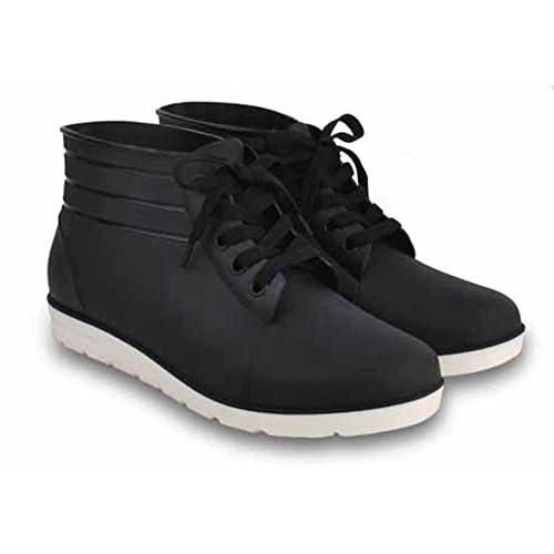 (チェリーレッド) CherryRed メンズ レインシューズ 高品質 ブーツ ショット丈 ファション 梅雨 雨の日 履き心地のよい 41