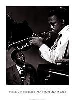Howard McGhee and Miles Davisアートポスター印刷by William P。Gottlieb、24x 32