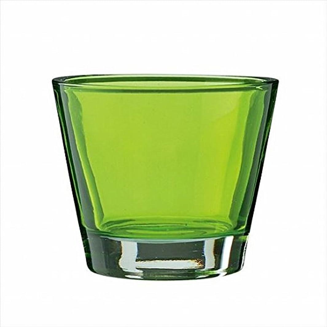 遠え選挙無数のカメヤマキャンドル(kameyama candle) カラリス 「 グリーン 」