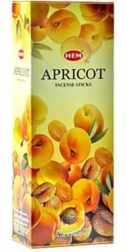 HEM(ヘム)社 アプリコット香 スティック APRICOT 6箱セット