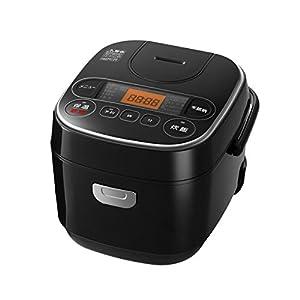【Amazon.co.jp限定】 アイリスオーヤマ 炊飯器 マイコン式 3合 極厚銅釜 銘柄炊き分け機能付き ブラック RC-MA30AZ-B