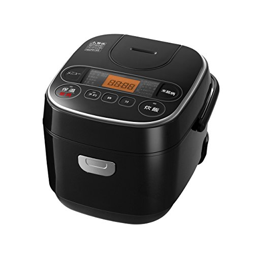【Amazon.co.jp限定】 アイリスオーヤマ 炊飯器 マイコン式 銘柄炊き 極厚銅釜 3合 ブラック RC-MA30AZ-B