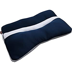 アイリスオーヤマ 枕 匠眠 高さ調整3通り 通気性抜群 洗える スタンダード ハード Mサイズ ブルー