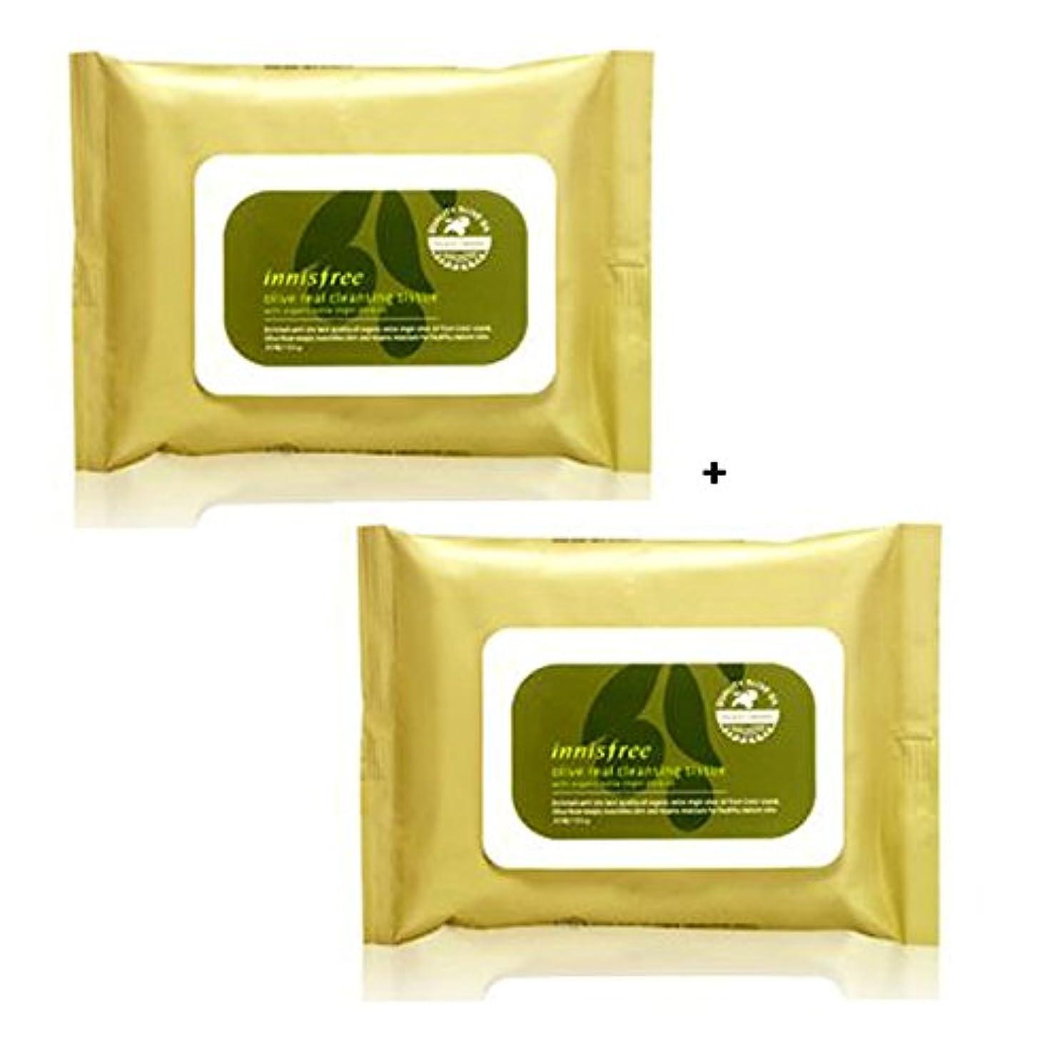 バリケード必要としている検索エンジンマーケティングイニスフリー Innisfree オリーブリアル クレンジングティッシュ (30枚x2) Innisfree Olive Real Cleansing Tissue (30sheetsx2Pcs) [海外直送品]