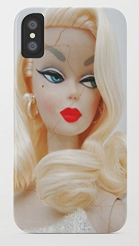 バービー Barbie iPhone 8/8 Plus Xケース society6 (iPhone X, barbie08) [並行輸入品]