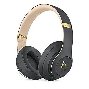 Beats by Dr.Dre ワイヤレスノイズキャンセリングオーバーイヤーヘッドホン Studio3 Wireless 連続再生最大約40時間 Bluetooth対応 W1チップ搭載 密閉型 通話可能 リモコン有り シャドーグレー MQUF2PA/A 【国内正規品】