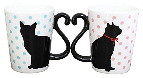 アルタ マグカップルニューシリーズ 黒猫/ドット AR0604038