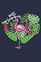 Flamingo Notizbuch: Ein perfektes Geschenk fuer alle Flamingo Liebhaber