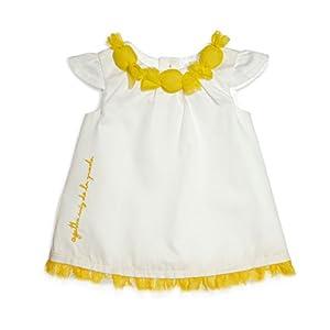 アガタ・ルイス・デ・ラ・プラダ ベビー Agatha Ruiz de la Prada Baby キャンディーワンピース・ホワイト 4A