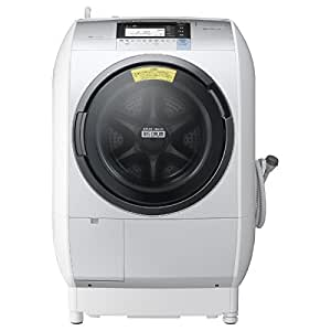 日立 11.0kg ドラム式洗濯乾燥機【左開き】 シルバーHITACHI ビックドラム BD-V9800L-S