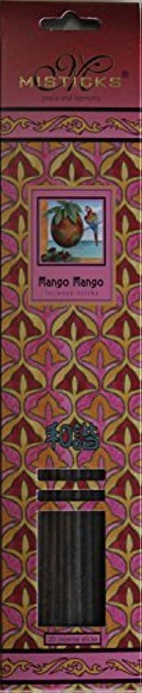 勝つテロリストパラシュートMisticks ミスティックス Mango Mango マンゴマンゴ お香 20本入