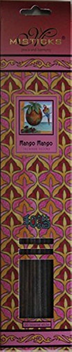パントリーウェーハスペクトラムMisticks ミスティックス Mango Mango マンゴマンゴ お香 20本入
