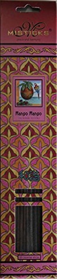 不忠クラウド受け入れたMisticks ミスティックス Mango Mango マンゴマンゴ お香 20本入