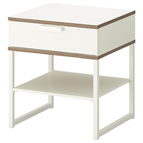 RoomClip商品情報 - TRYSIL ベッドサイドテーブル (ホワイト/ライトグレー)