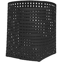 かご バスケット 収納 おしゃれ 天然素材 インテリア 日本製 Bandc Basket L5 ブラック