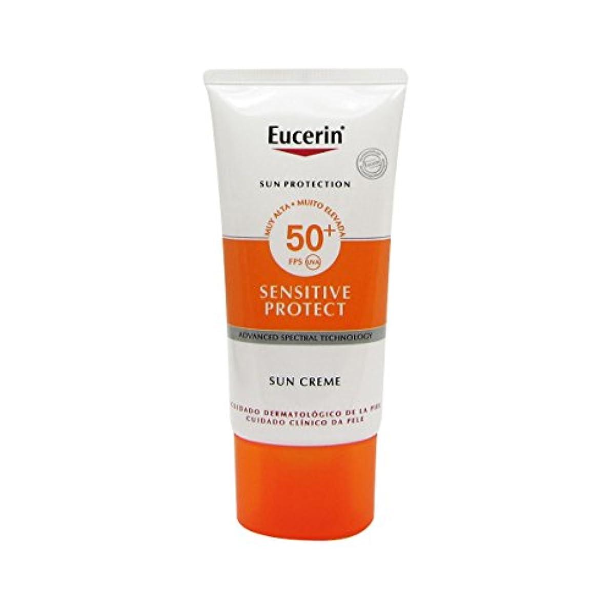ラップトップ苦行エジプトEucerin Sun Face Cream Dry Skin Spf50 50ml [並行輸入品]