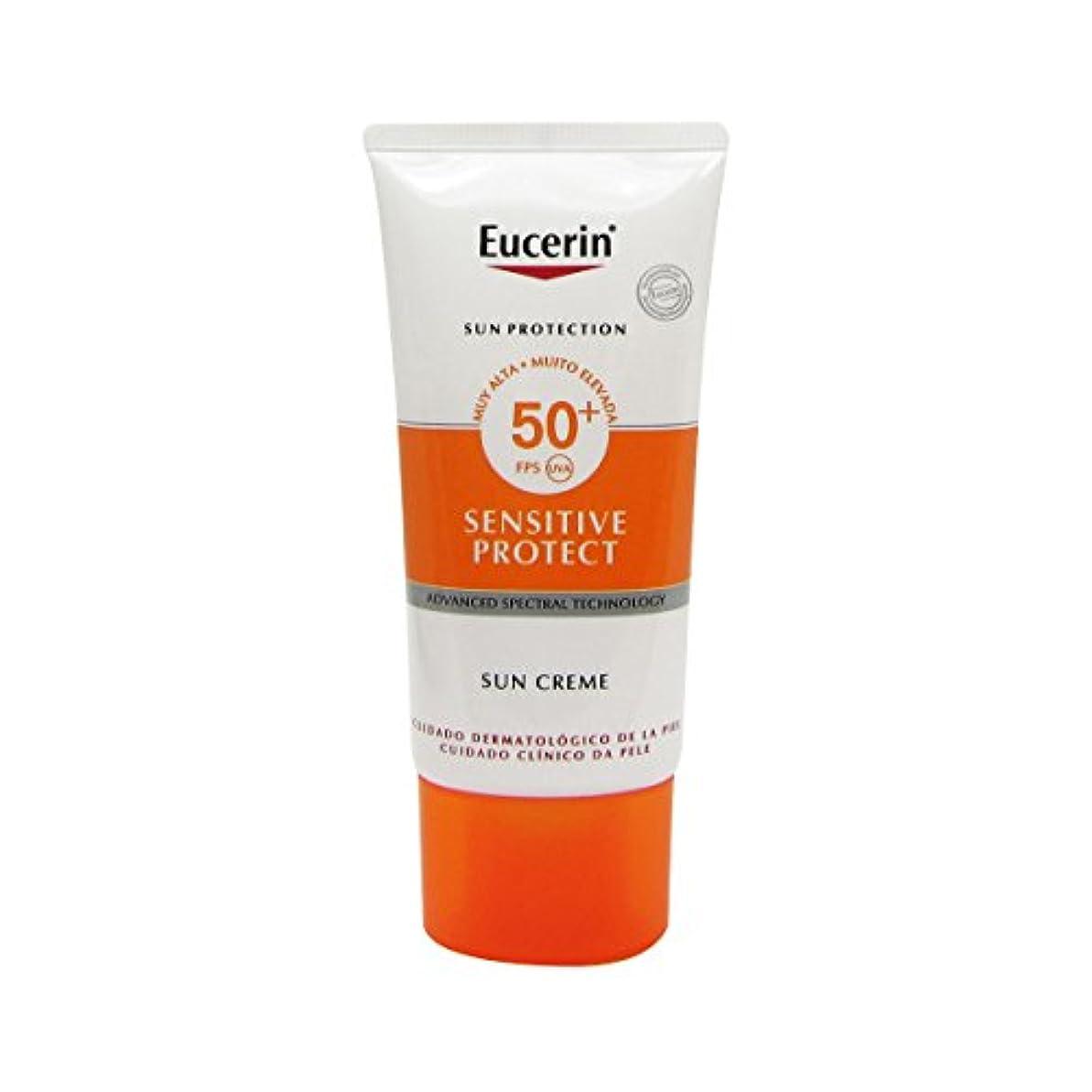 ホイッスル参加者無関心Eucerin Sun Face Cream Dry Skin Spf50 50ml [並行輸入品]
