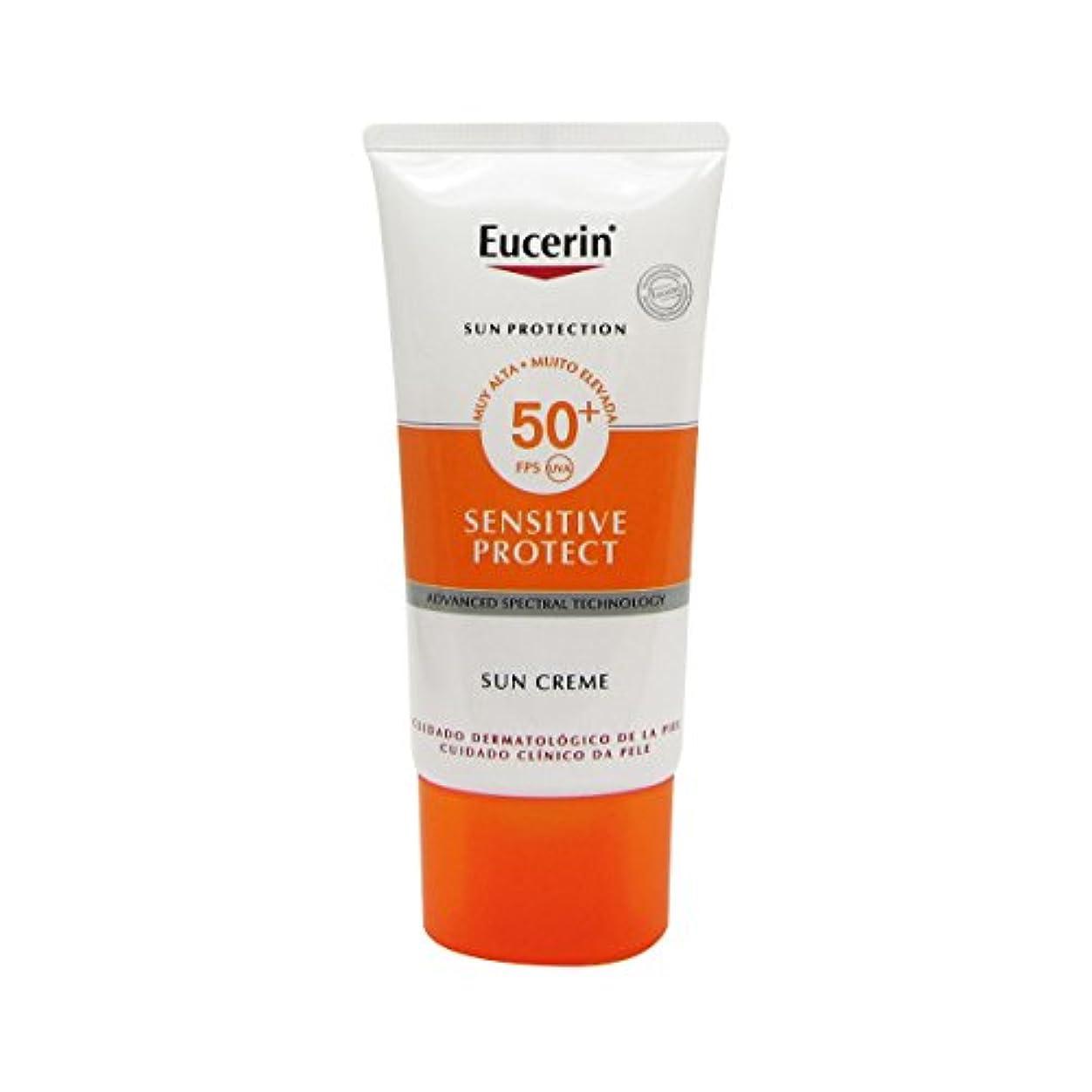 恐れ行進時代遅れEucerin Sun Face Cream Dry Skin Spf50 50ml [並行輸入品]