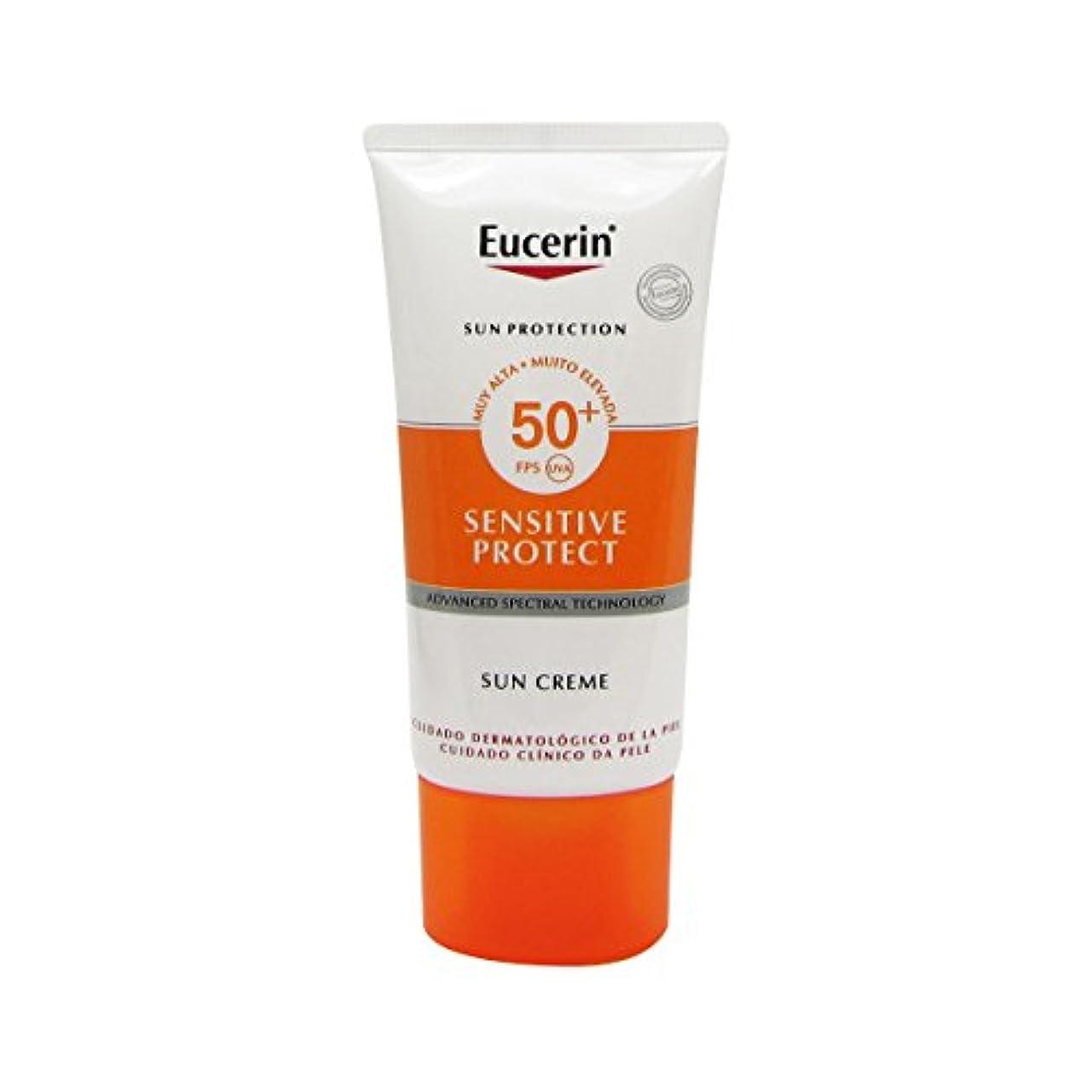 幹地域のどっちでもEucerin Sun Face Cream Dry Skin Spf50 50ml [並行輸入品]