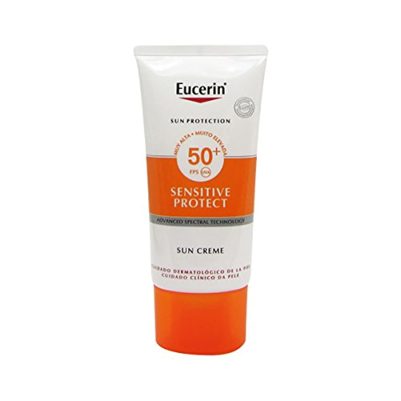 浪費作曲家主流Eucerin Sun Face Cream Dry Skin Spf50 50ml [並行輸入品]
