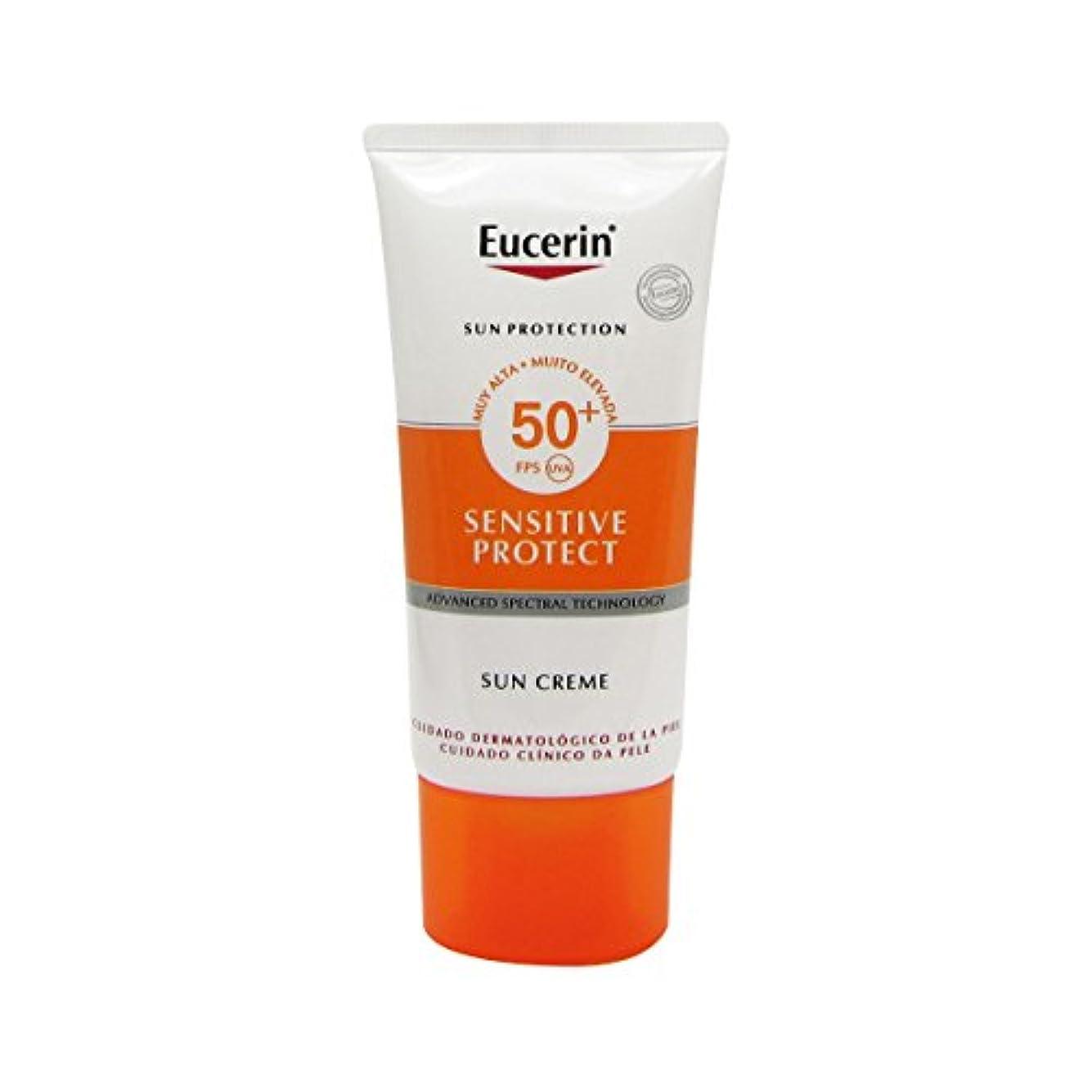 大人ナンセンス先史時代のEucerin Sun Face Cream Dry Skin Spf50 50ml [並行輸入品]