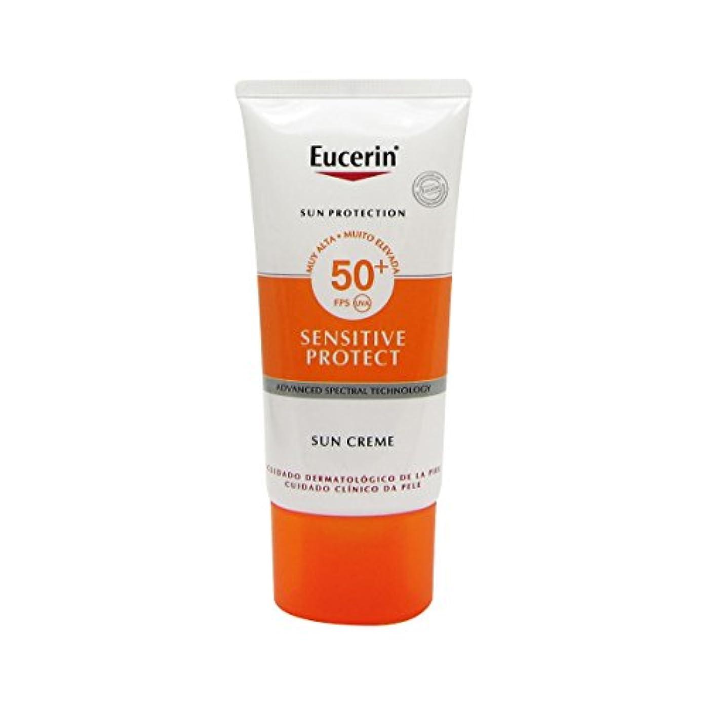 再発する氏社説Eucerin Sun Face Cream Dry Skin Spf50 50ml [並行輸入品]