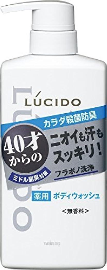 壊れた差し控える活性化ルシード 薬用デオドラントボディウォッシュ 450mL (医薬部外品)