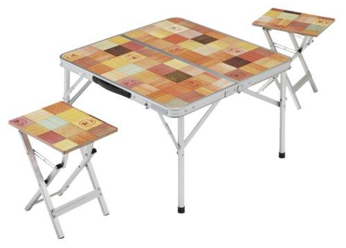 コールマン テーブル ナチュラルモザイクピクニックセット