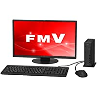 富士通 デスクトップパソコン FMV ESPRIMO DHシリーズ WD1/C2 (Windows 10 Home/21.5型ワイド液晶/Celeron/4GBメモリ/約500GB HDD/スーパーマルチドライブ/Officeなし/サテンブラック) AZ_WD1C2_Z866/富士通WEB MART専用モデル