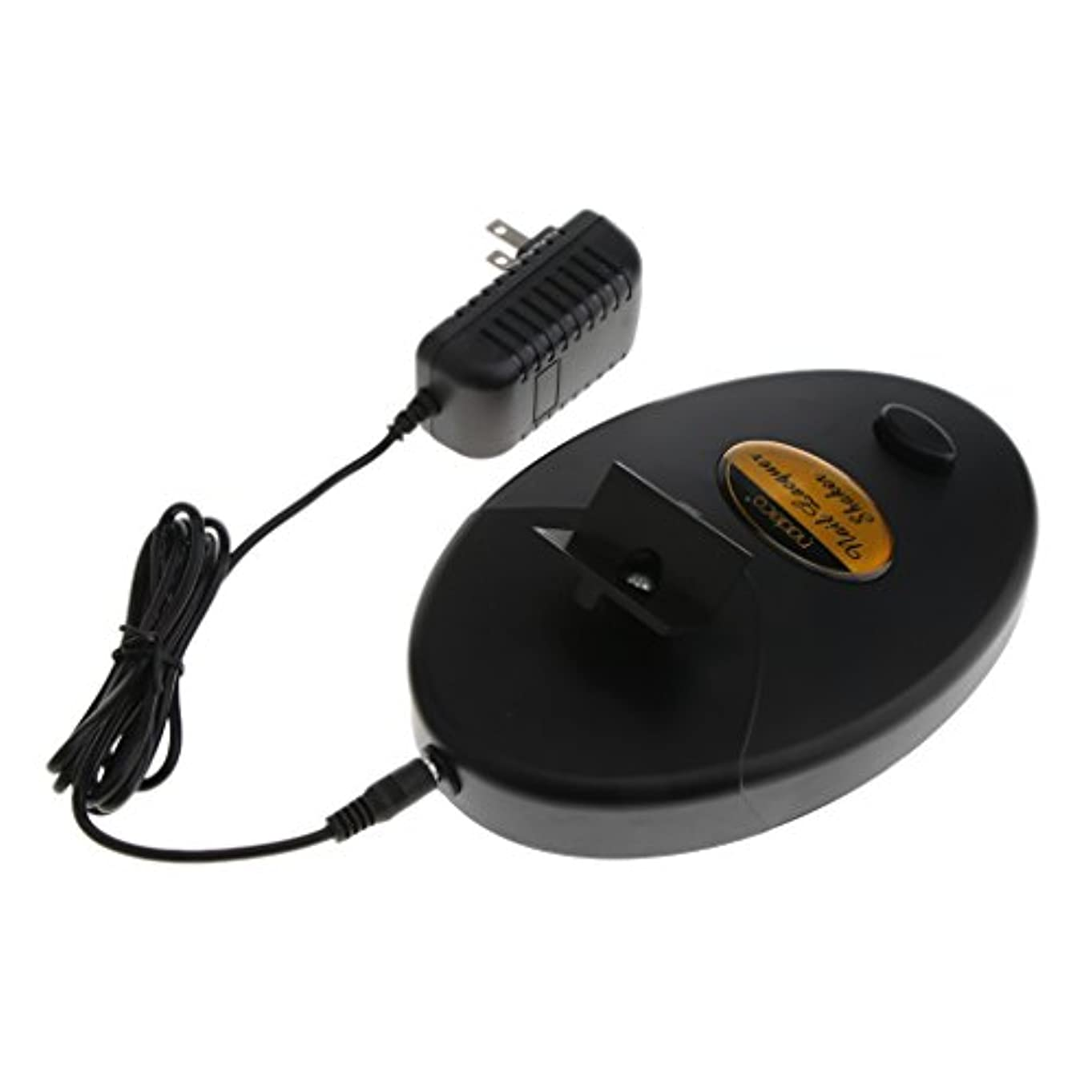 テレビ人気の反射ネイルラッカーシェーカー 調整可能 ネイルマシン 全2色 - ブラック