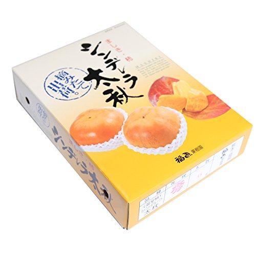 熊本産 最高級太秋柿 シンデレラ太秋 6玉 産地直送