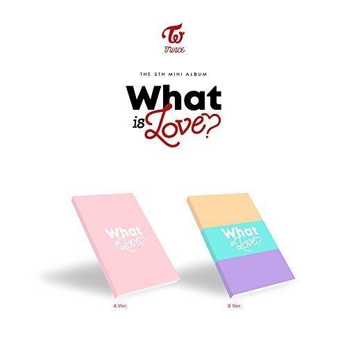 トワイス - WHAT IS LOVE? [Random ver.] (5th Mini Album) CD+Photocards+Sticker+Pre-Order Benefit+Folded Poster [KPOP MARKET特典: 追加特典フォトカードセット] [韓国盤]
