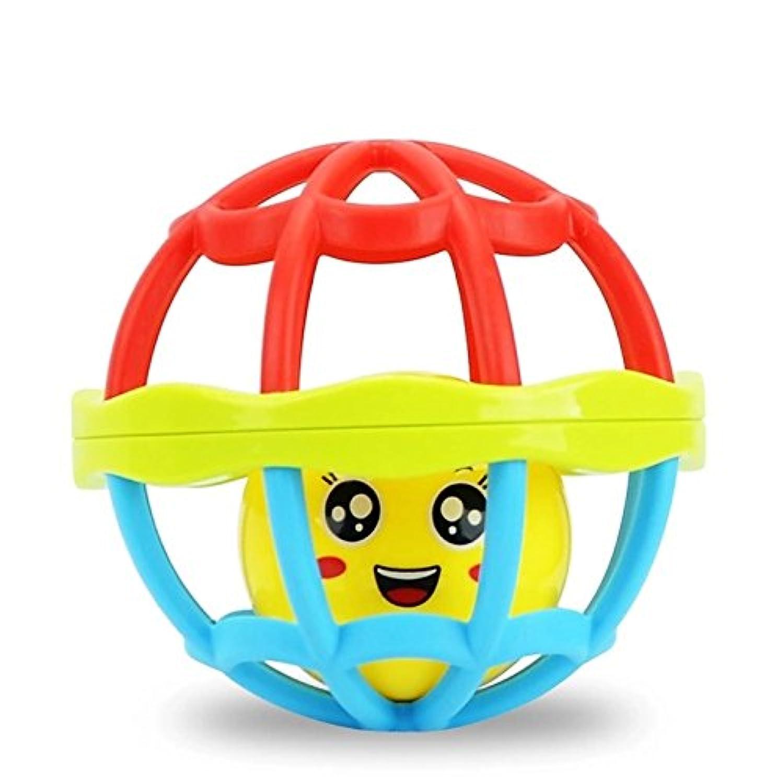 ychoice Lovely赤ちゃんおもちゃギフト赤ちゃんかわいいプラスチック手Rattles Bell KidsベビーFunnnyクロールおもちゃボールギフト