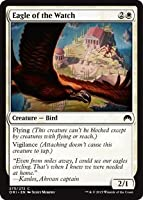 英語版 マジック・オリジン Magic Origins ORI 警備隊の鷲 Eagle of the Watch マジック・ザ・ギャザリング mtg