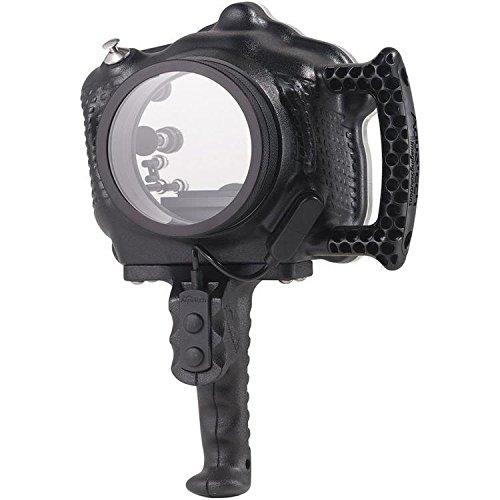 Aquatech ATB xt2水ハウジングfor Fujifilm x-t2カメラ, Includesスポーツカメラハウジング、プレート、取り外し可能なサイドハンドル、ケーブルリリース、ピストルグリップトリガーキット、lp-5レンズポート、ツールキット