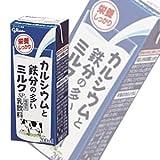 .グリコ乳業 カルシウムと鉄分の多いミルクSP 紙パック200ml×24本入【要冷蔵】【クール便】[HF]