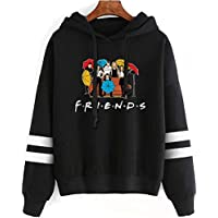 XUSHAN Fashion Friend Sweatshirt Hoodie Friend TV Show Merchandise Women Graphic Hoodies Pullover Funny Hooded Sweater Tops Clothes