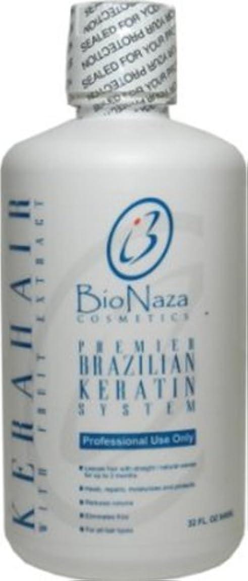 パッチ錆びダンスBioNaza Cosmetics BioNaza KeraHairブラジルのケラチントリートメント32オンス 32オンス