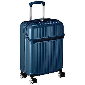 [アクタス] スーツケース トップス S 33L 3.2kg トップオープン 機内持ち込み 機内持込可 33.0L 53.5cm 3.2kg 74-20312 02 ブルーカーボン