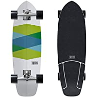 CARVER カーバー サーフ スケートボード コンプリート GREEN-GLASS